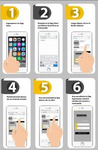 Instalar Aplicación Iphone